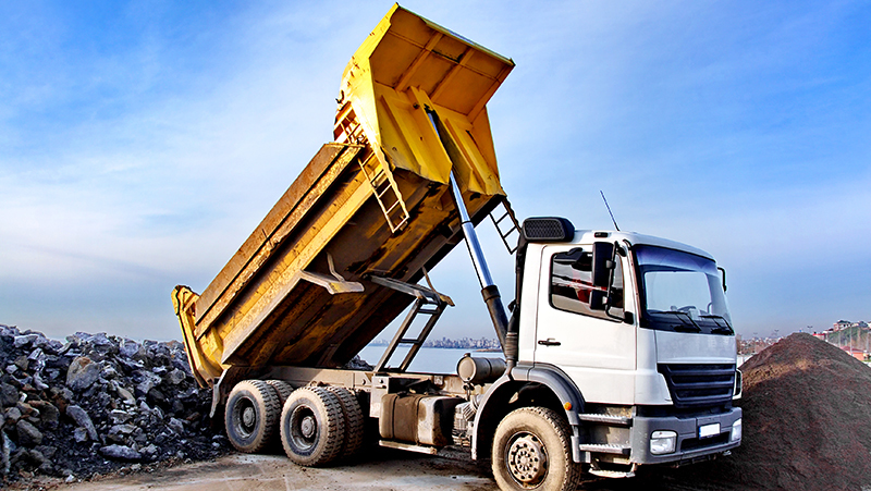 Rent Dump Truck and driver
