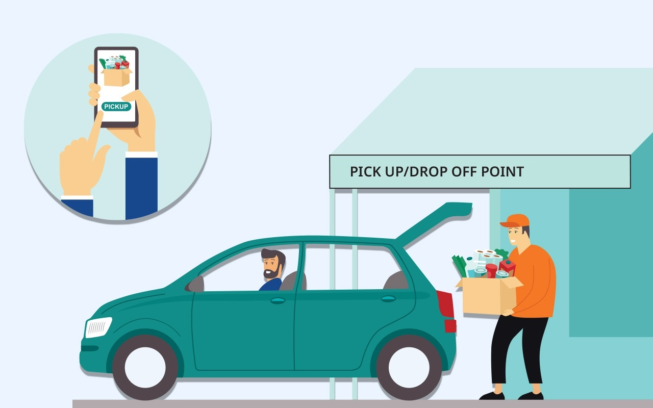 Pick up and Drop off Delivery service